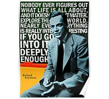 Richard Feynman Poster