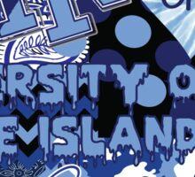 University of Rhode Island Collage Sticker