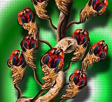 Parrot Willows by GolemAura