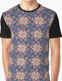 Multi-colored Snowflakes Graphic T-Shirt