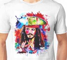 """Captain Jack Sparrow"" Unisex T-Shirt"