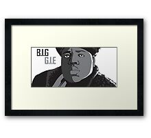 The Notorious B.I.G. V2 Framed Print