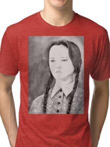 Wednesday Addams - I Hate Everything Tri-blend T-Shirt