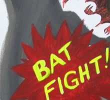 Bat Fight! What We Do in the Shadows Sticker