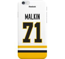 Pittsburgh Penguins Evgeni Malkin Away Jersey Back Phone Case iPhone Case/Skin