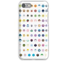 Pokemon - Gen 4 iPhone Case/Skin