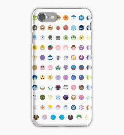 Pokemon - Gen 4 iPhone Case/Skin