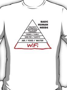 Basic Human Needs Wi-Fi T-Shirt