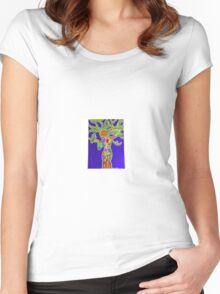 Woman rooted in Wildlife Women's Fitted Scoop T-Shirt