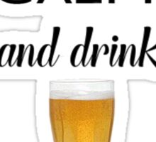 Beer Alcohol Drink 1 Sticker