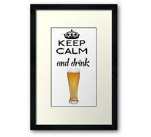 Beer Alcohol Drink 1 Framed Print
