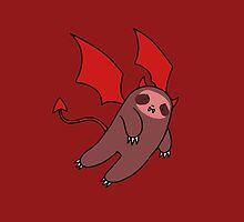 Red Devil Sloth by SaradaBoru