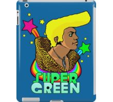 Super Green iPad Case/Skin
