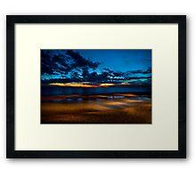 Chelsea Fiery Sunset Framed Print