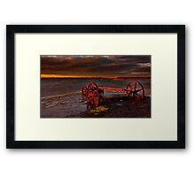 """""""Retirement By The Sea"""" Framed Print"""