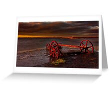 """""""Retirement By The Sea"""" Greeting Card"""