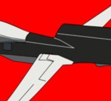 Black Drone Sticker