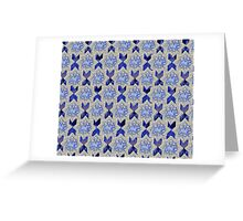 On the tiles Greeting Card