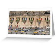 Maltese warehouses Greeting Card