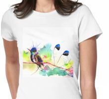 """Spatuletail Hummingbird"" Womens Fitted T-Shirt"