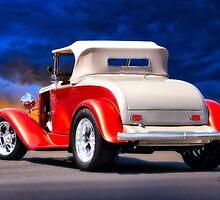 1932 Chevrolet Roadster 'Journey's End' by DaveKoontz