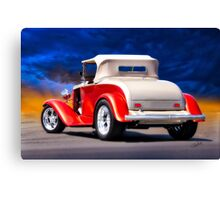 1932 Chevrolet Roadster 'Journey's End' Canvas Print