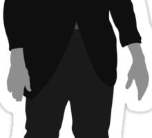 Classic Monsters - Frankenstein's Monster - Black and White Sticker