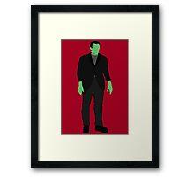 Classic Monsters - Frankenstein's Monster - Colour Framed Print