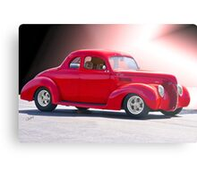 1938 Ford 'Five Window' Coupe Metal Print