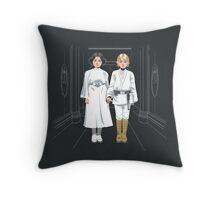 SKYWALKER TWINS Throw Pillow