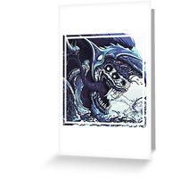CS:GO Hyperbeast (Black/Blue) Greeting Card