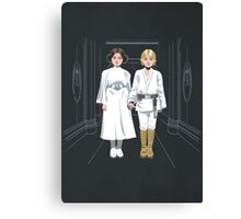 SKYWALKER TWINS Canvas Print