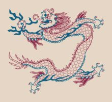 Chinese Dragon (red/green) by Leebling