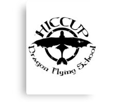 Hiccup's Dragon Flying School Canvas Print