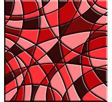 Modern Stylish Abstract Pattern Photographic Print