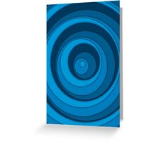 Nested Dots - Blue Greeting Card