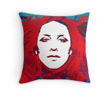 Annette Peacock amazing design! Throw Pillow