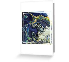 CS:GO Hyperbeast (Blue) Greeting Card