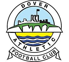 Dover Athletic Badge Photographic Print