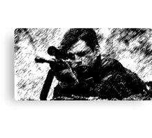 Winter Soldier Sniper Canvas Print