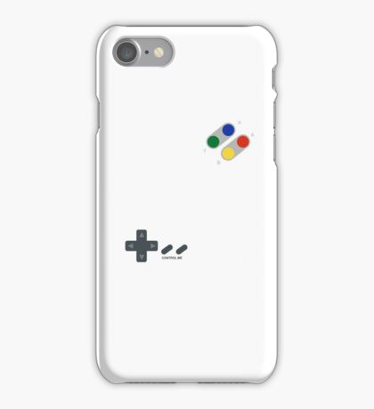 Control me, retro style iPhone Case/Skin