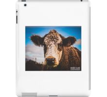 Purple Cow  iPad Case/Skin