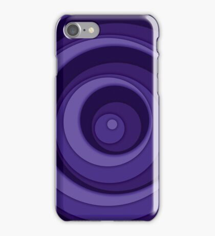 Nested Dots - Purple iPhone Case/Skin