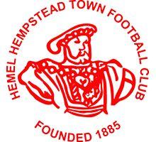 Hemel Hempstead Town Badge Photographic Print
