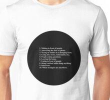 10. Nervous Unisex T-Shirt