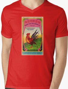 Firecracker Label Mens V-Neck T-Shirt