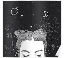 Space Buns Poster
