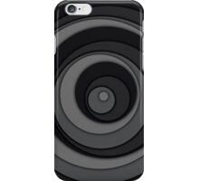 Nested Dots - Black iPhone Case/Skin
