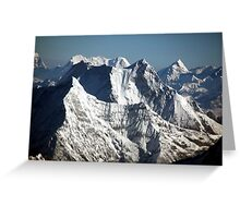 The Himalayas Greeting Card