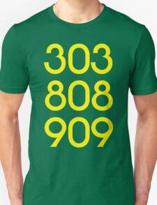 808 303 909 acid house Unisex T-Shirt